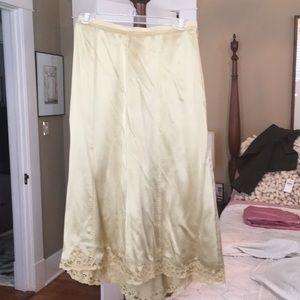 Perry Ellis silk skirt